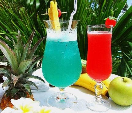 Bunt wie die Cocktails ist die Insel. (Foto Katharina Büttel)
