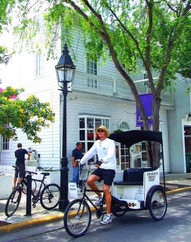 Easy going in Key West. (Foto Katharina Büttel)