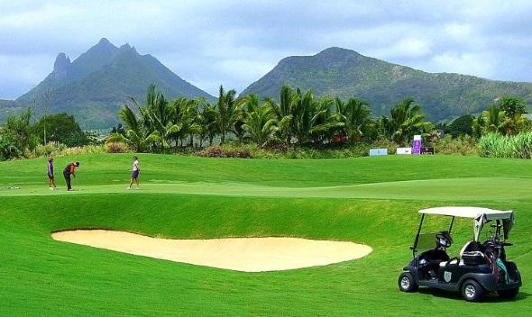 Auch Liebhabers des Golfsports kommen auf Mauritius voll auf ihre Kosten. (Foto Katharina Büttel)