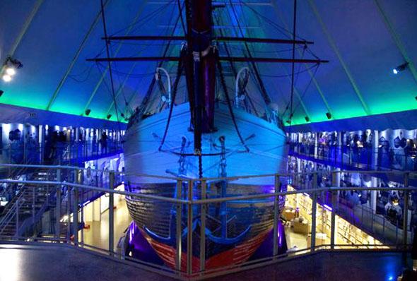 Das Fram-Museum präsentiuert ein faszinierendes Stück maritiemer Geschichte. (Foto Susanne A. Finnes)