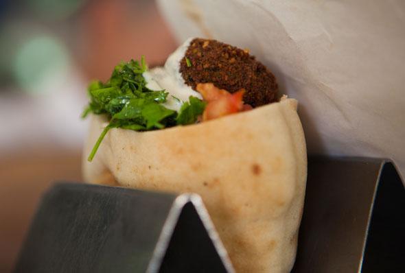 Berühmter Klassiker aus der israelischen Küche: die Falafel.