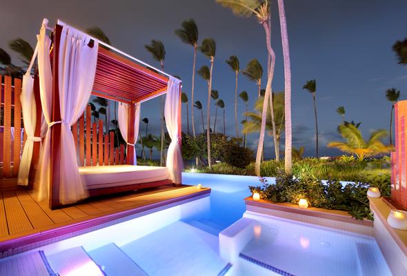 Einige Zimmer sind mit eigenem Pool und Jacuzzi ausgestattet. (Foto Palladium Group)