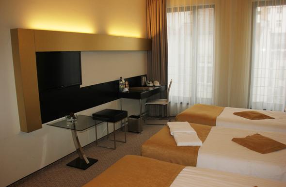 Das Grandior Hotel im Herzen von Prag besticht durch großzügige Zimmer. (Foto Karsten-Thilo Raab)