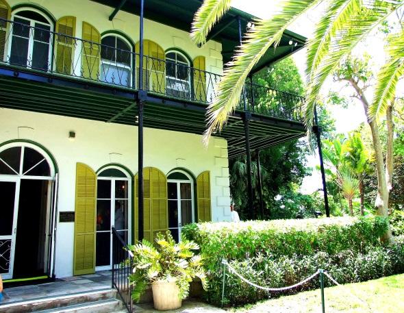 Pilgerstätte für Literaturliebhaber: das Hemingway Haus in Key West. (Foto Katharina Büttel)