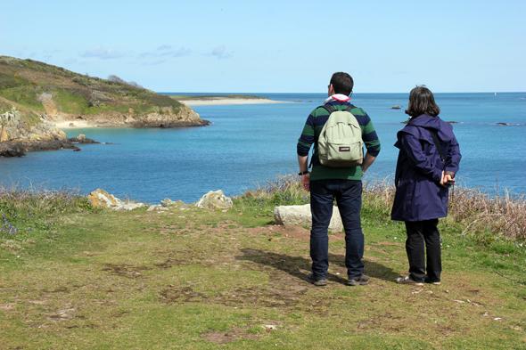 Ohne große Mühe lässt sich die kleine Insel im Golf von St. Malo in anderthalb Stunden umrunden. (Foto Karsten-Thilo Raab)