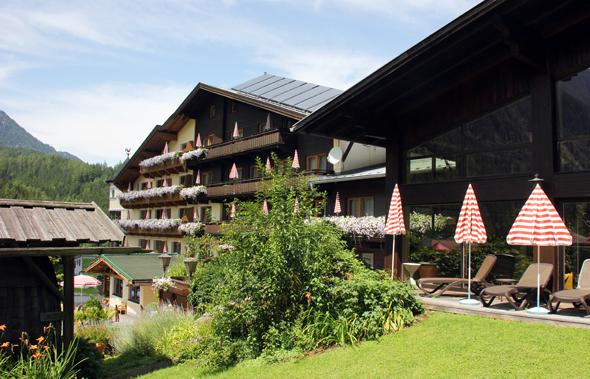 Idyllisch gelegen im wunderschönen Ötztal: das Hotel Habicher Hof. (Foto Ulrike Katrin Peters)