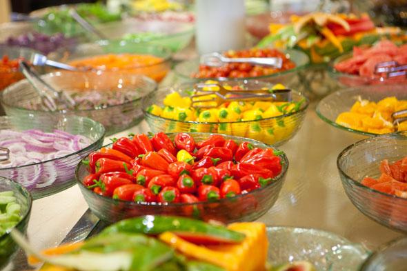 Ein veganes Frühstück gehört für viele Israelis zum Alltag.