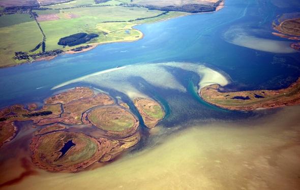 Inselgruppe Kleine Werder im Nationalpark Vorpommersche Boddenlandschaft (Foto: Knobloch)