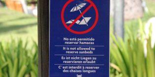 Streitfall Handtuch: Liegen-Reservierer lassen viele Urlauber rotsehen