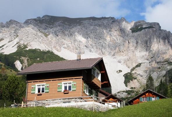 Oberhalb von Malbun zeigt sich die Bergwelt des Fürstentums Liechtenstein von seiner schönsten Seite. (Foto Karsten-Thilo Raab)