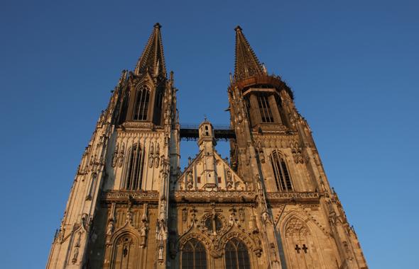 Wahrzeichen von Regensburg: der Dom St. Peter. (Foto Karsten-Thilo Raab)