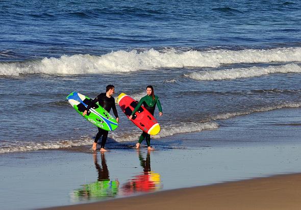 Für jede Könnerstufe findet sich in Costa Rica die richtige Welle.