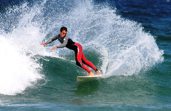 Das Pura Vida-Lebensgefühl der Einheimischen ist auch beim Surfen Programm.
