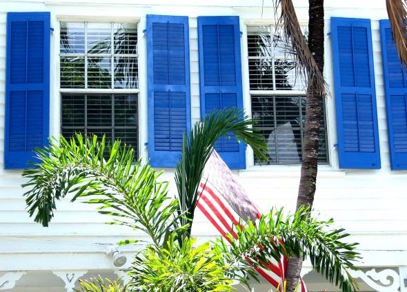 Typische Häuser auf den Keys. (Foto Katharina Büttel)