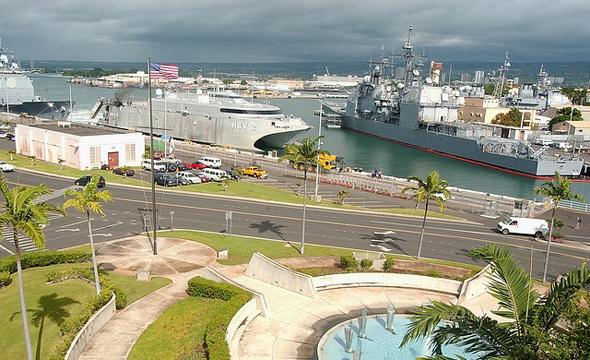 Noch immer ist der Hafen auf Hawaii ein bedeutsamer Stützpunkt der US Marine.