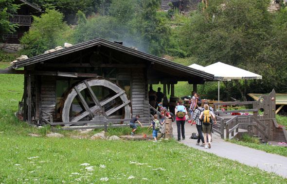 Die Piburger Mühle ist ein besonderes Kleinod im Ötztal. (Foto Ulrike Katrin Peters)