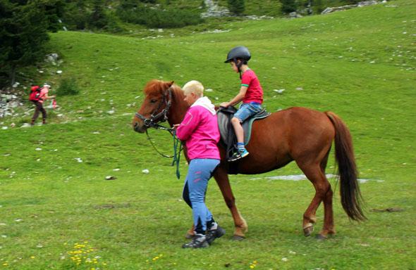 Auch im Ötztal liegt das Glück auf Erden auf den Rücken von Pferden. (Foto Ulrike Katrin Peters)