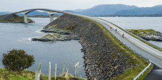 Wasser, Weite, Wadenmuskeln – neue Atlantikroutein Norwegen
