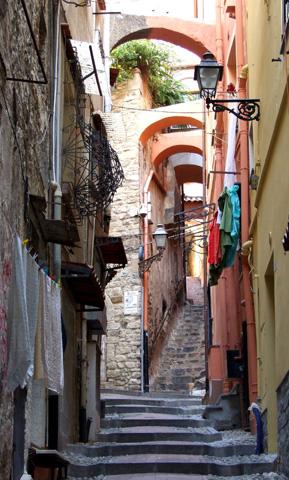 Ein Stück Bilderbuch-Italien in Ligurien. (Foto Katharina Büttel)