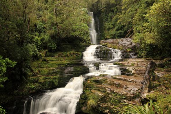 Ein landschaftlicher Traum: die Clutha Wasserfälle. (Foto TNZ)