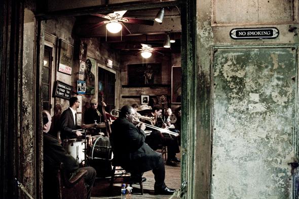 In New Orleans lässt sich auf den Spuren von Louis Amstrong einiges entedecken. (Foto Werner Krug - Preservation Hall)