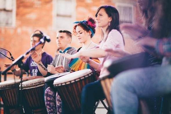 Beim Freedom Festival wird auch bereits die Werbetrommel für das City of Culture Jahr gerührt. (Foto Visit Britain)