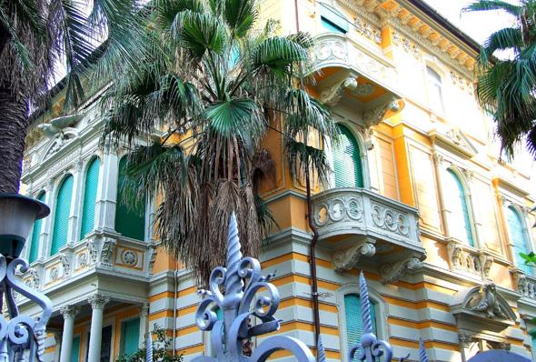 Gelungenes Beispiel eines Belle-Epoque-Palazzo. (Foto Katharina Büttel)