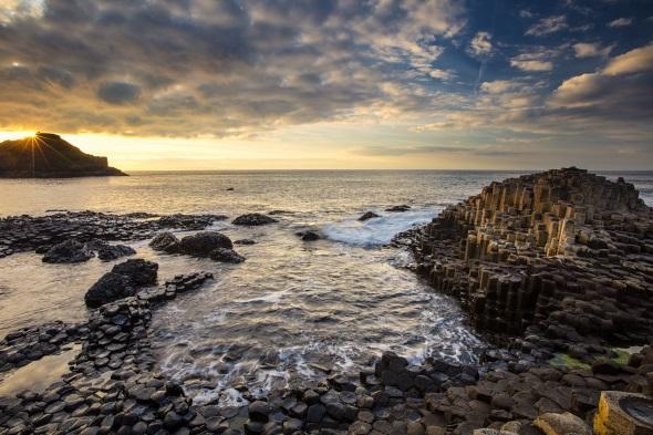 Ein weiteres Highlight der Antrim Coast ist das UNESCO-Welterbe des Giant`s Causeways.