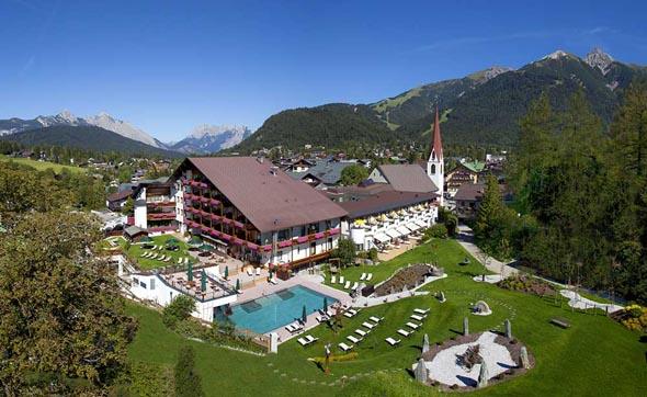 Seit 500 Jahren eine der Topadressen in Österreich: das Fünf-Sterne-Hotel Klosterbräu.