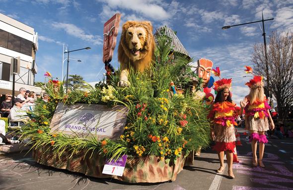 Der Carnival of Flowers lockz nicht nur Blumenfrewunde ins australische Toowoomba.