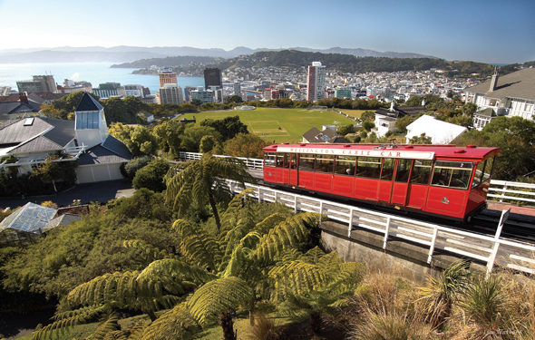 Die Hauptstadt Welloington gilt als das Hollywood Neuseelands. (Foto TNZ)