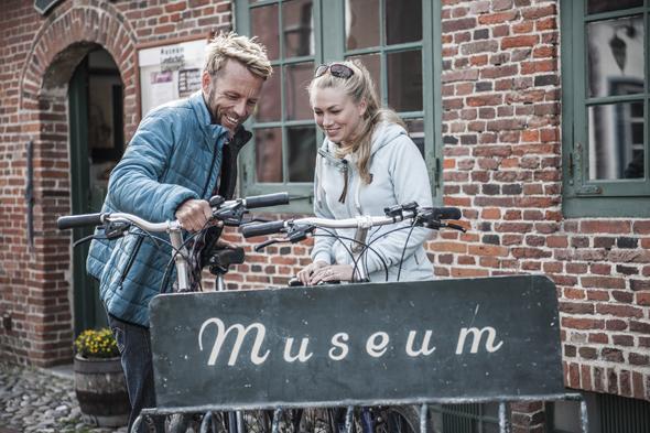 Lässt sich bewuem mit dem Rad erreichen: das Museum der Landschaft Eiderstedt. (Foto Oliver Franke)