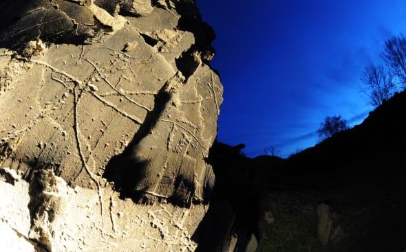 Überaus faszinierend sind die berühmten Felsgravuren im Côa-Tal.