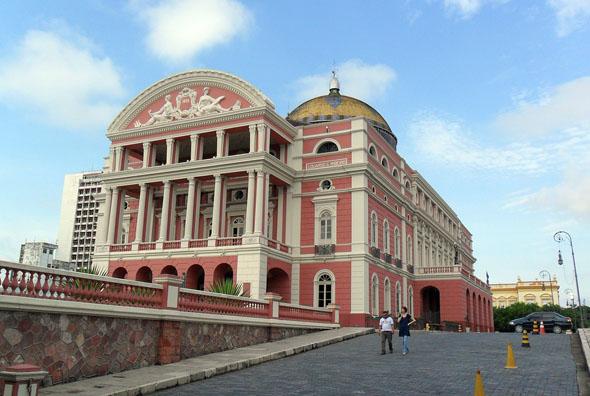 Ein Kuriosum inmitten des Regenwalds: das Opernhaus von Manaus.