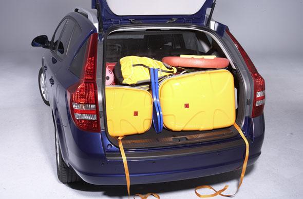 Das Auto richtig zu beladen, ist vor allem eine Frage der Sicherheit. (Foto ADAC/ Frieder Müller Seewald)