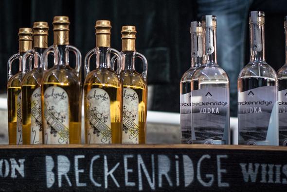 Beim Breckenridge Craft Spirits Festival gibt es nicht nur besonderen Whisky im Ausschank. (Foto Arthur Balluff)