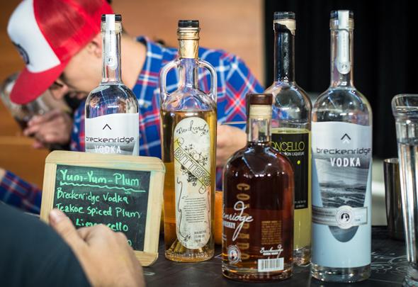 Die Spirituosen aus Breckenridge sind im wahrsten Sinne des Wortes ausgezeichnet. (Foto Arthur Balluff)