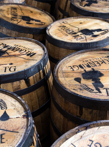 Der Whisky wird in Holzfässern aus amerikanischer Weiß-Eiche gelagert. (Foto Breckenridge Distillery)