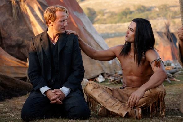 In der Kvarner begnen sich im neuen Filmabenteuer Old Shatterhand und Winnetou.