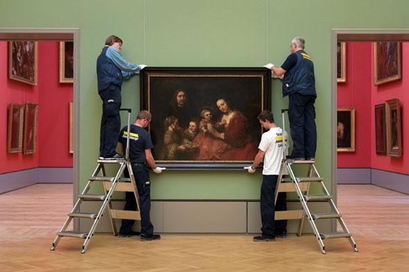 """Weltberühmte Werke haben im Herzog Anton Ulrich-Museum ihren Platz, darunter auch Rembrandts """"Familienbild"""". (Foto: djd)"""
