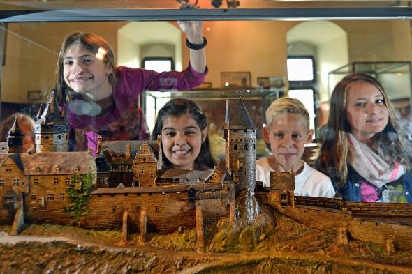 Auch Kinder kommen in der interaktiven Ausstellung auf ihre Kosten. (Foto: Heinz-Dieter Wurm)