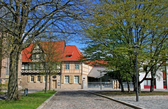 In Gleims Wohnhaus ist heute das Gleimhaus - Museum der deutschen Aufklärung - untergebracht. (Foto: djd)
