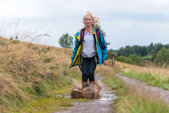 Im Oberharz können Kinder frei durch die Natur toben. (Foto: J. Reichel)