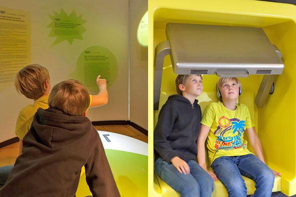 In Stade schickt das Museum Schwedenspeicher Kinder auf eine virtuelle Zeitreise. (Foto: djd)
