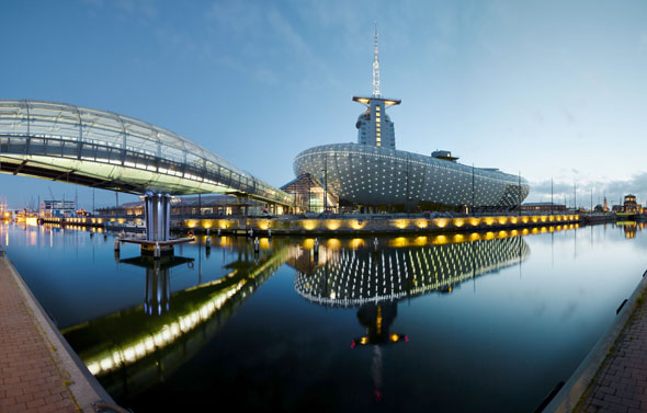 Das Klimahaus ist ein Höhepunkt für alle Besucher in Bremerhaven. (Foto: Marcus Meyer)