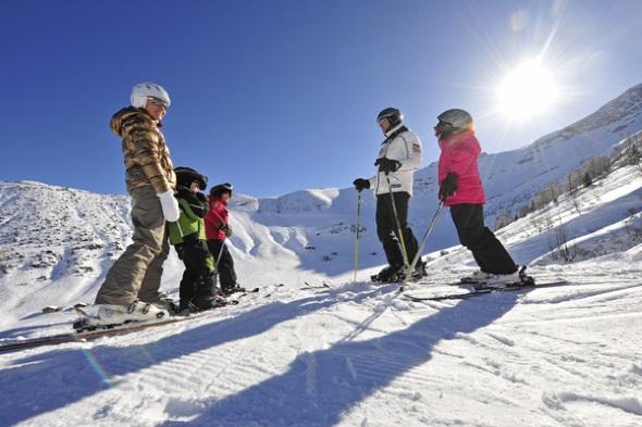 """Gerade für junge """"Skihasen"""" ist das überschaubare Skigebiet mit seinen kurzen Wegen ideal. (Foto Liechtenstein Marketing)"""