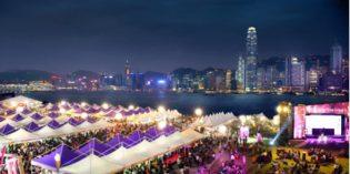 Internationales Gourmet-Festival in Hongkong