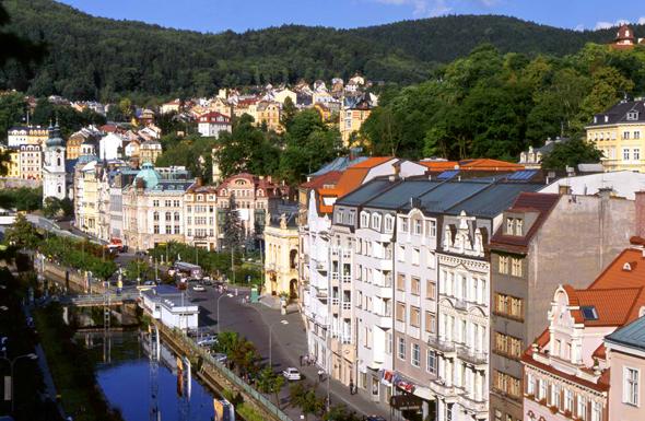 Bekannt ist Karlsbad auch für seine vielen Prachtbauten.