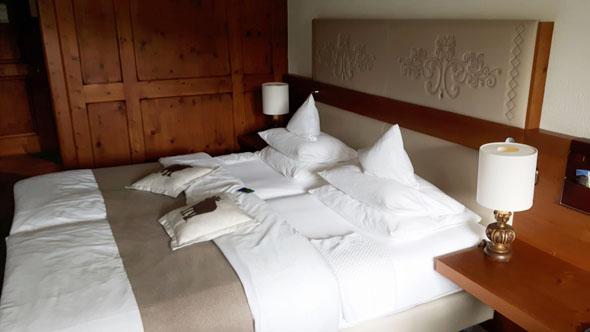 Die Zimmer im Lindner Parkhotel haben Größen zwischen 18 und 70 Quadratmetern. (Foto Karsten-Thilo Raab)