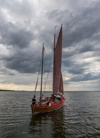 Zeesenboottour am Stettiner Haff, (Foto: E. Eichler)